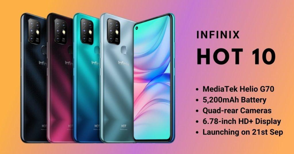 Infinix Hot 10 Specs