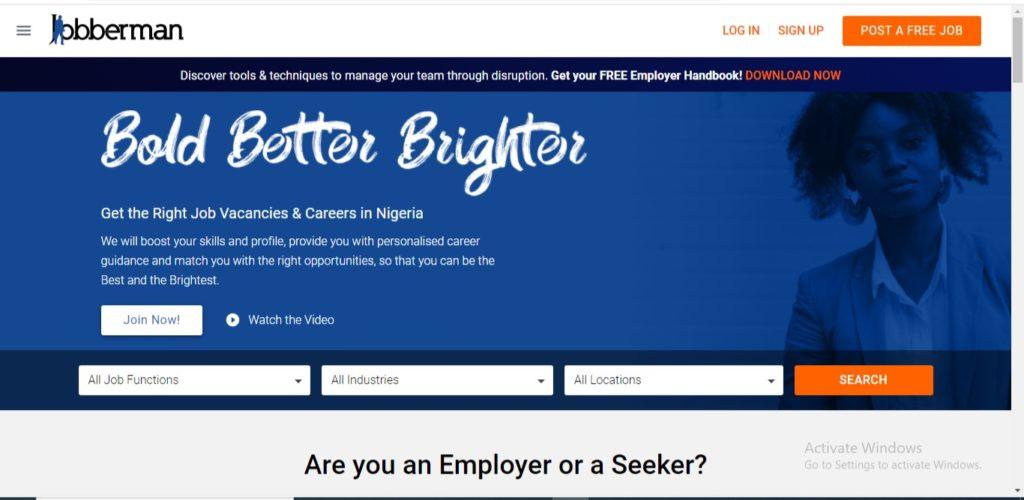 job search websites nigeria
