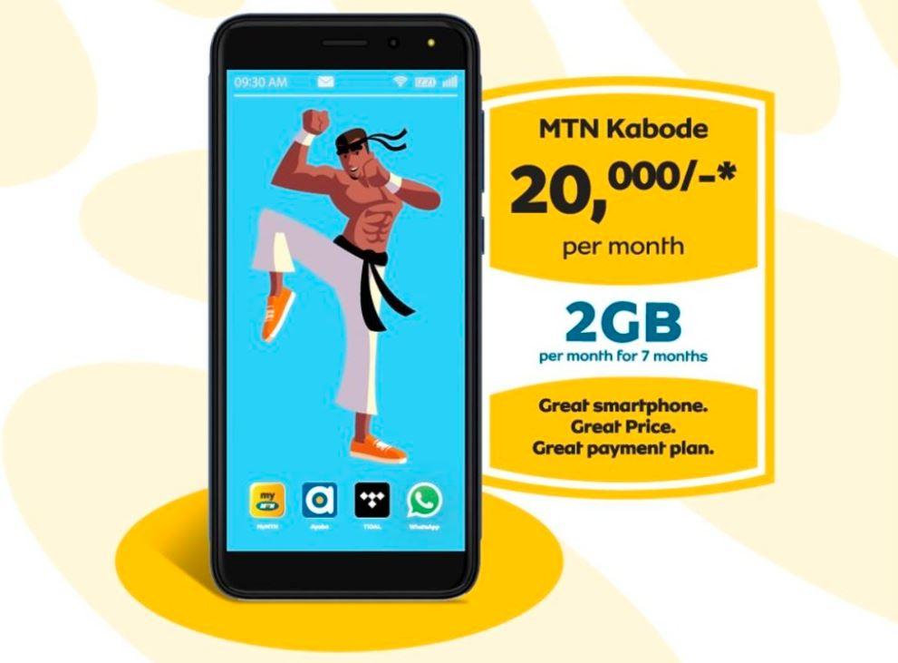 MTN Moments 2020 MTN Kabode phone