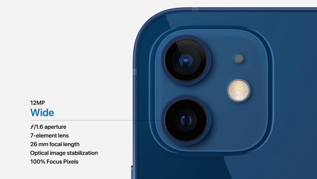 iPhone 12 rear camera set-up