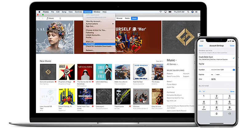 Differences between apple music and itunes