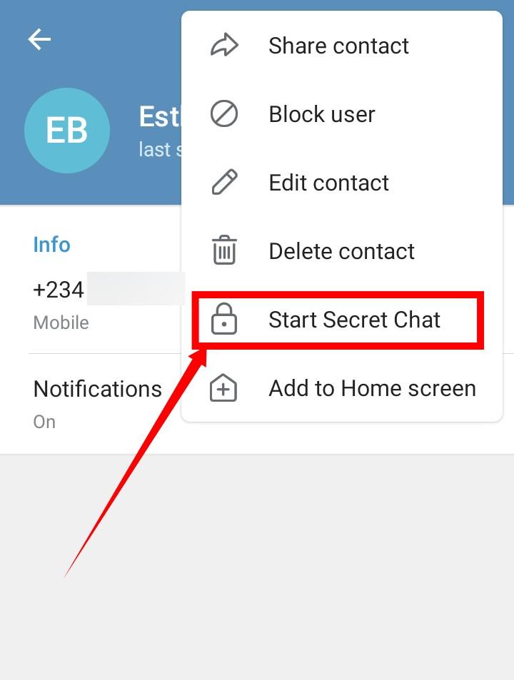 End-to-End Encryption Telegram