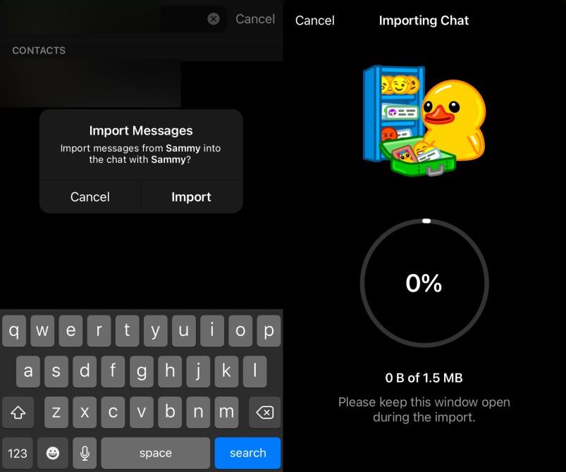 Move Whatsapp Chat Telegram
