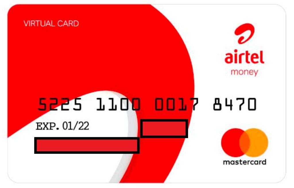 Airtel Virtual MasterCard