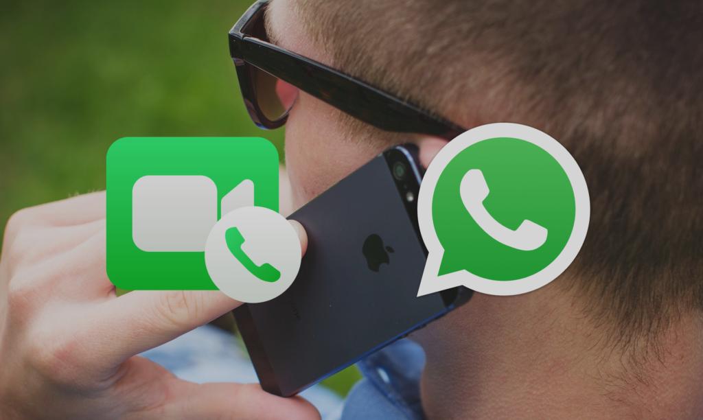 FaceTime vs WhatsApp Calls