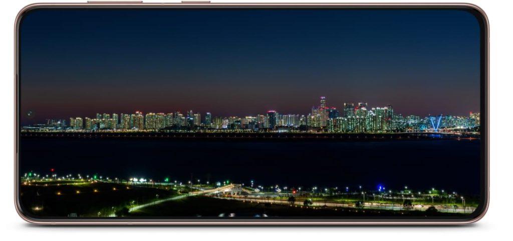 Samsung Galaxy S21 device