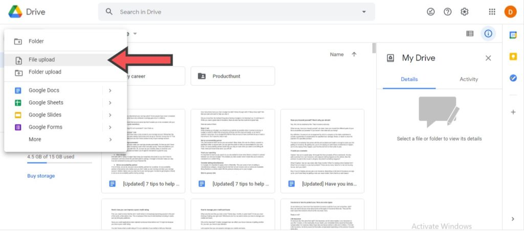 edit word documents in google docs