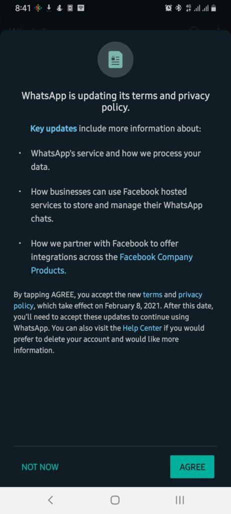Facebook wants your whatsapp data
