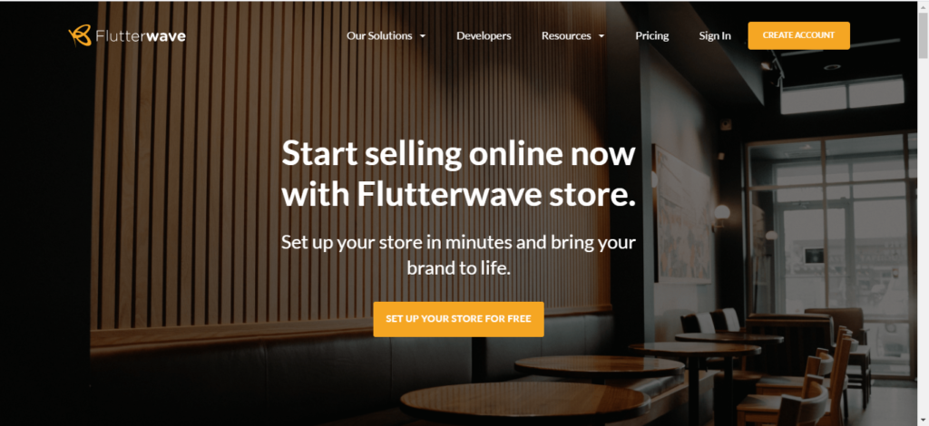 Paystack commerce vs Flutterwave store vs Quickteller storefront