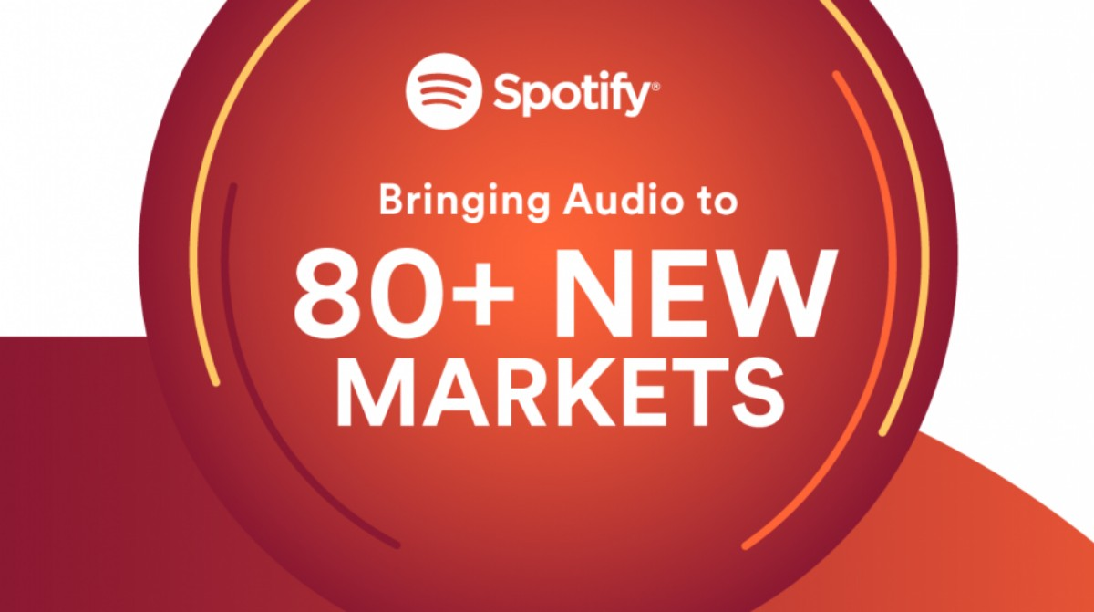 spotify in 80 new markets