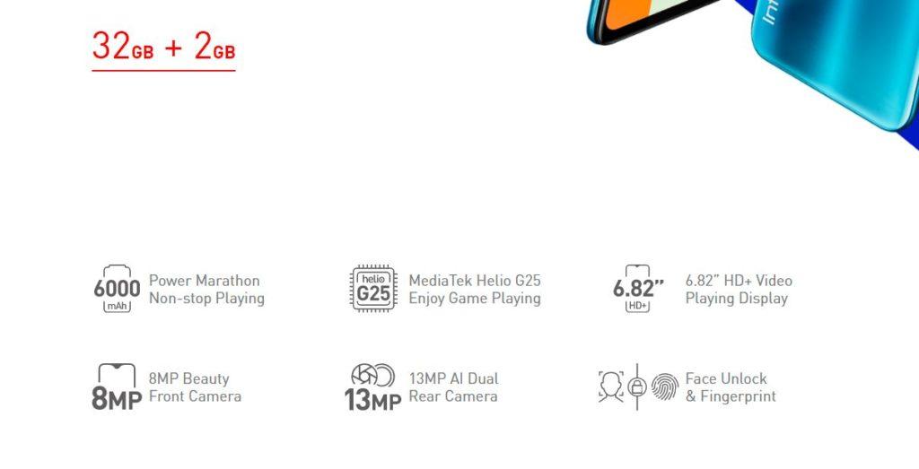 Infinix Hot 10 Play specs