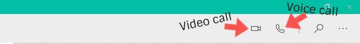whatsapp calls desktop