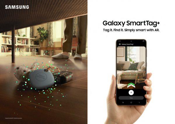 Galaxy SmartTag+ with AR