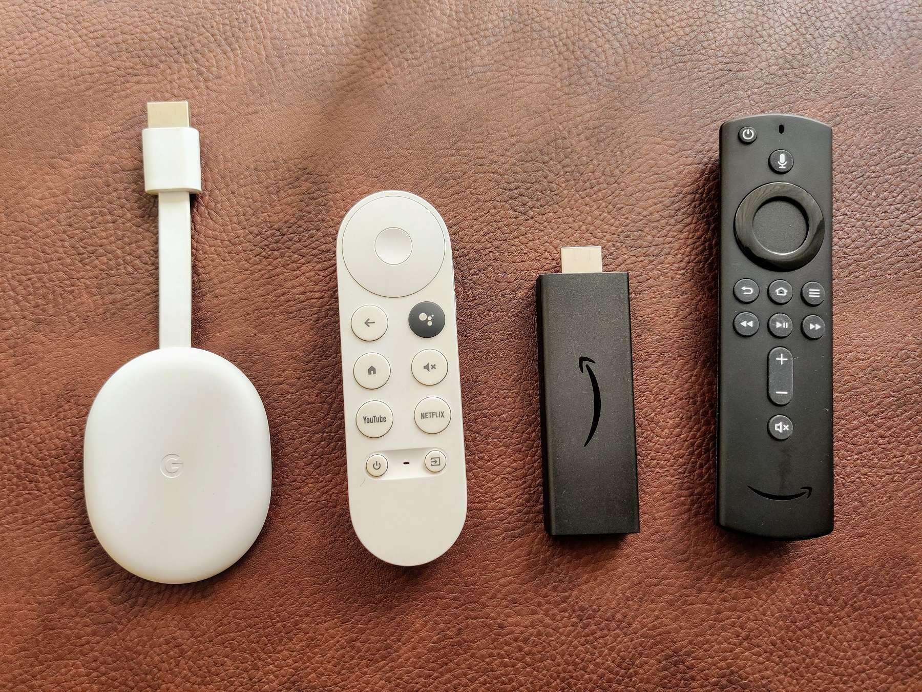Chromecast with Google TV vs Fire TV stick
