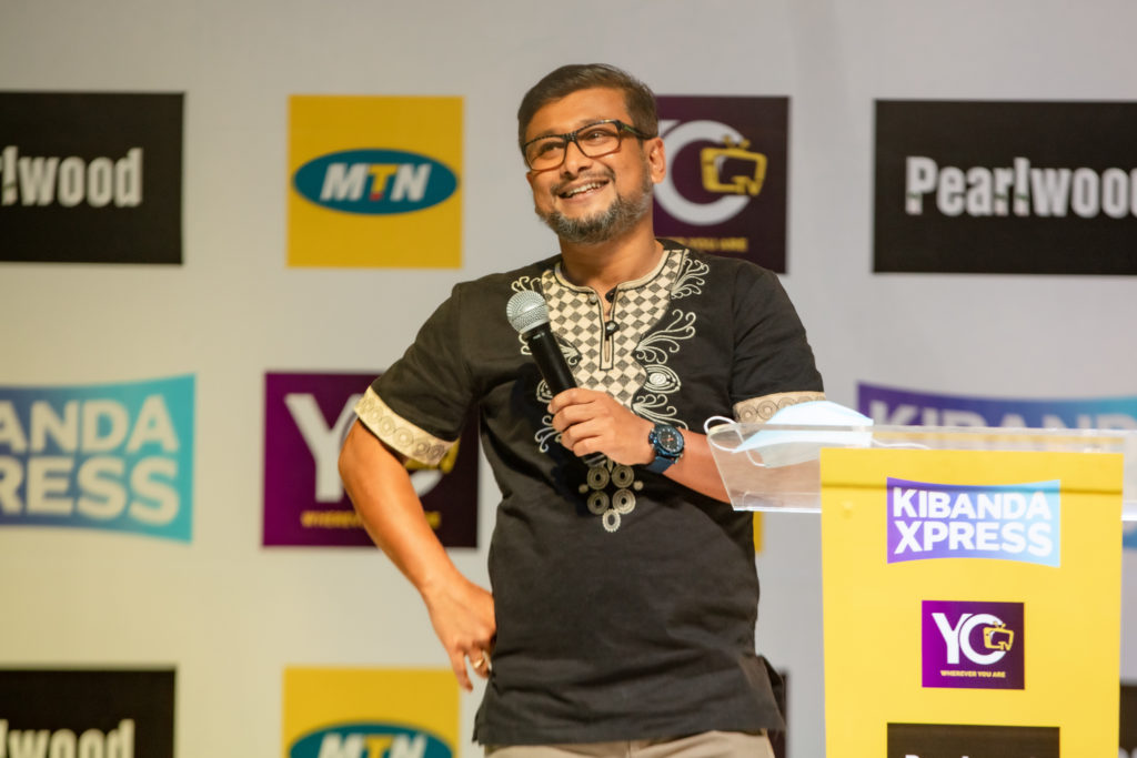 MTN Uganda's CMO Somdev Sen Launched Kibanda Xpress to the public