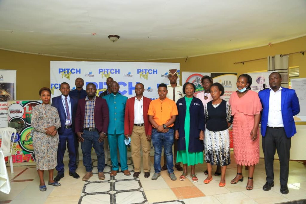 Group of Entrepreneurs who pitched during the Western Edition