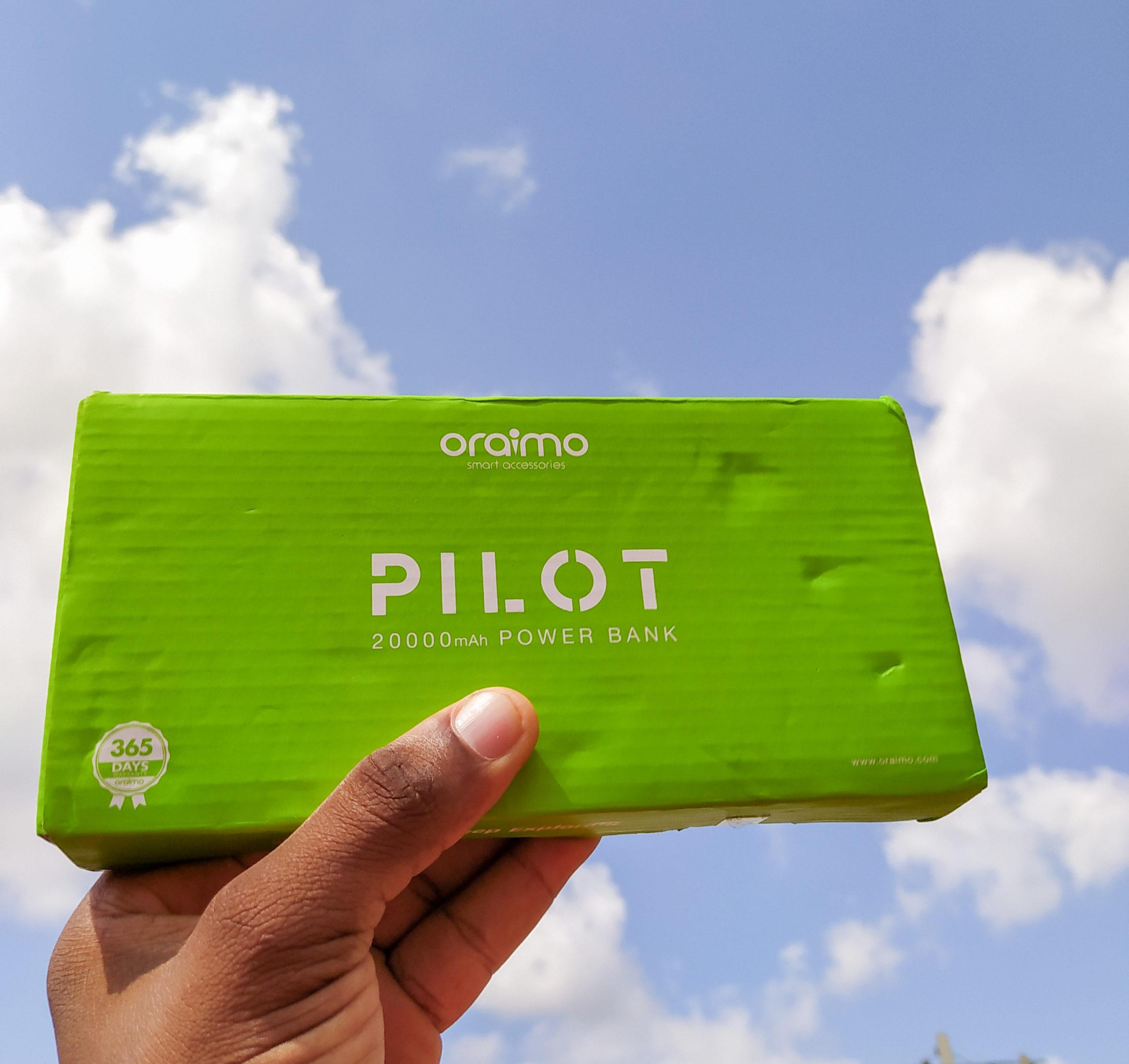 Oraimo Pilot 20000mAh Power Bank