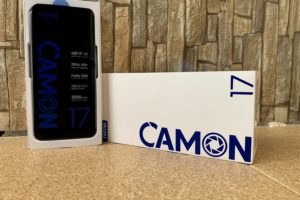Tecno Camon 17: Unboxing and First Impressions