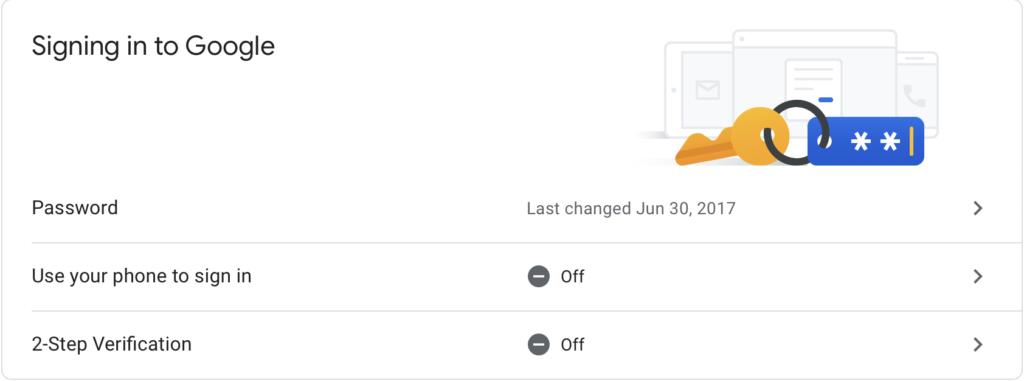 2-step Verification Google