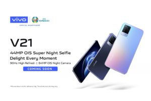 Vivo V21 Coming Soon CoverPage