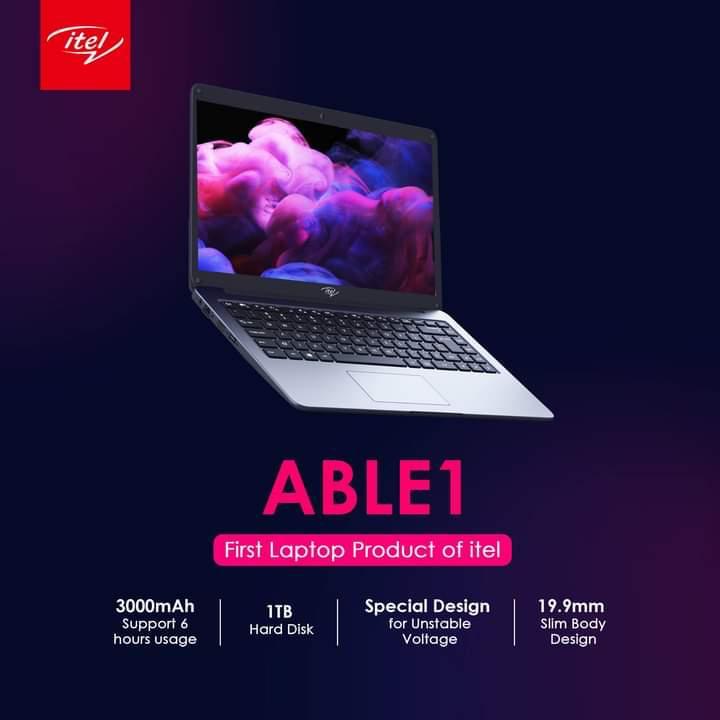 Itel Able 1 laptop specs