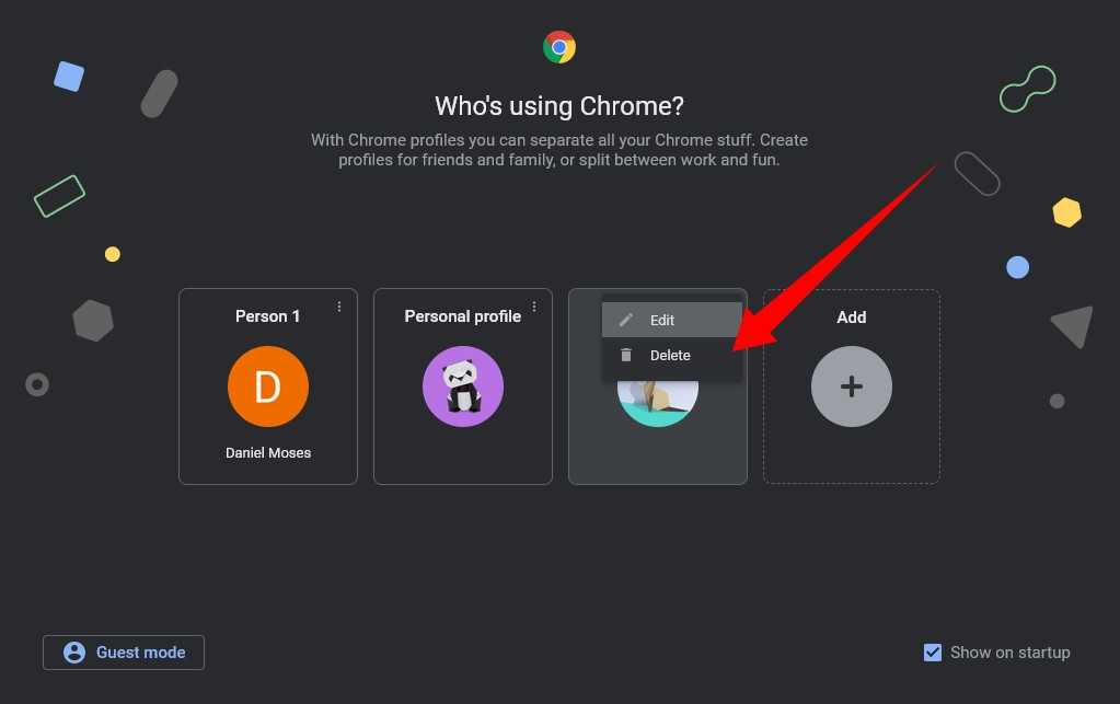 Chrome Profile