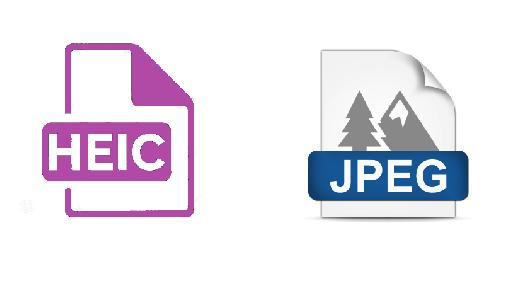 HEIC to JPEG