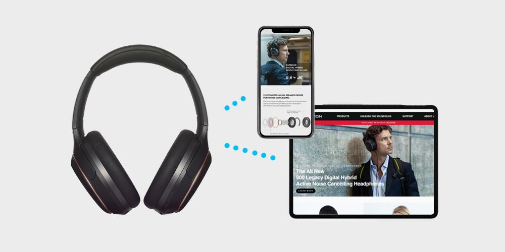 Bluetooth Multipoint Headphones