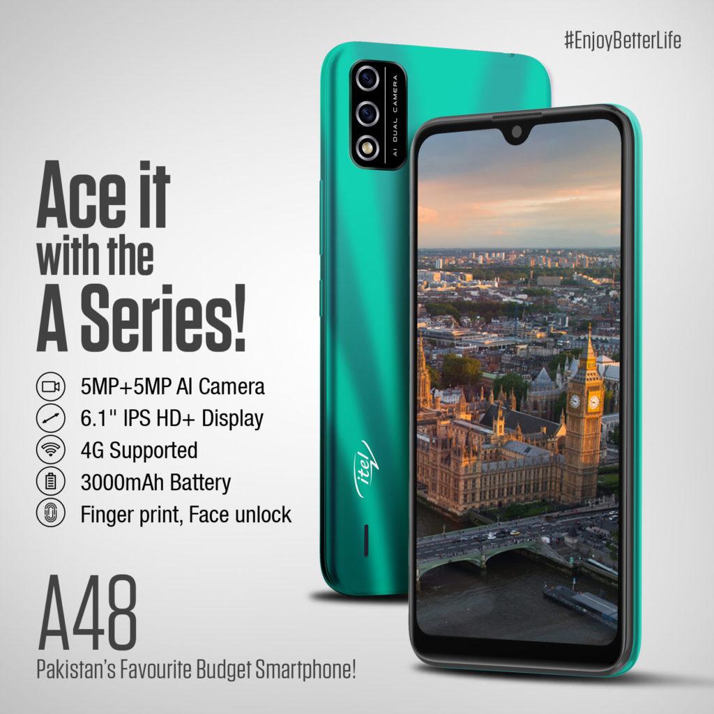 iTel A48 specs