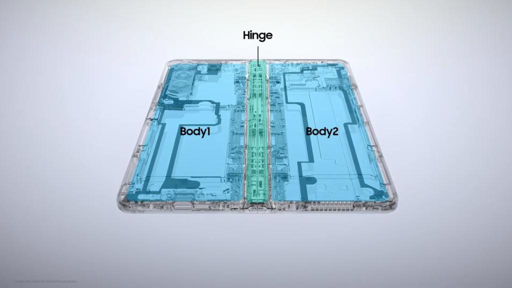Galaxy Z Fold 3 Build