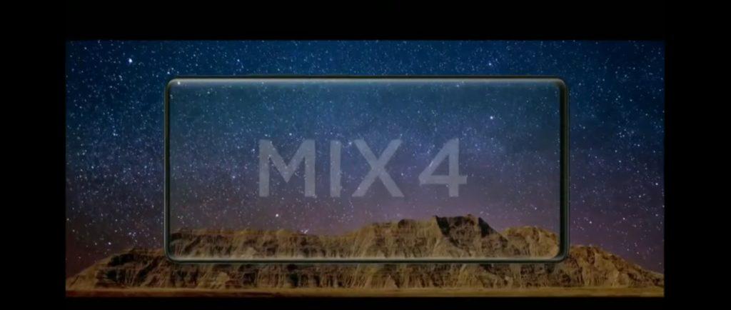 Mi Mix 4 display