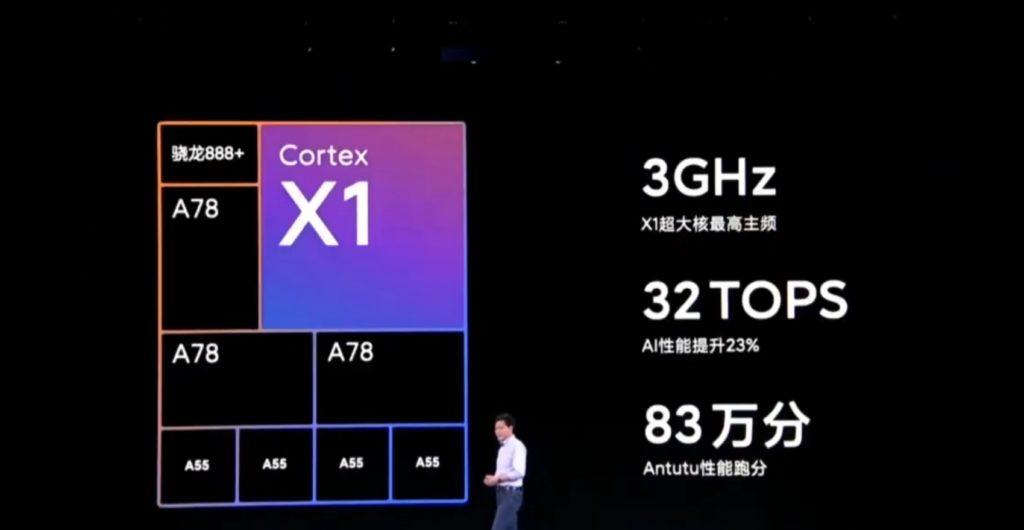 Mi Mix 4 processor cores