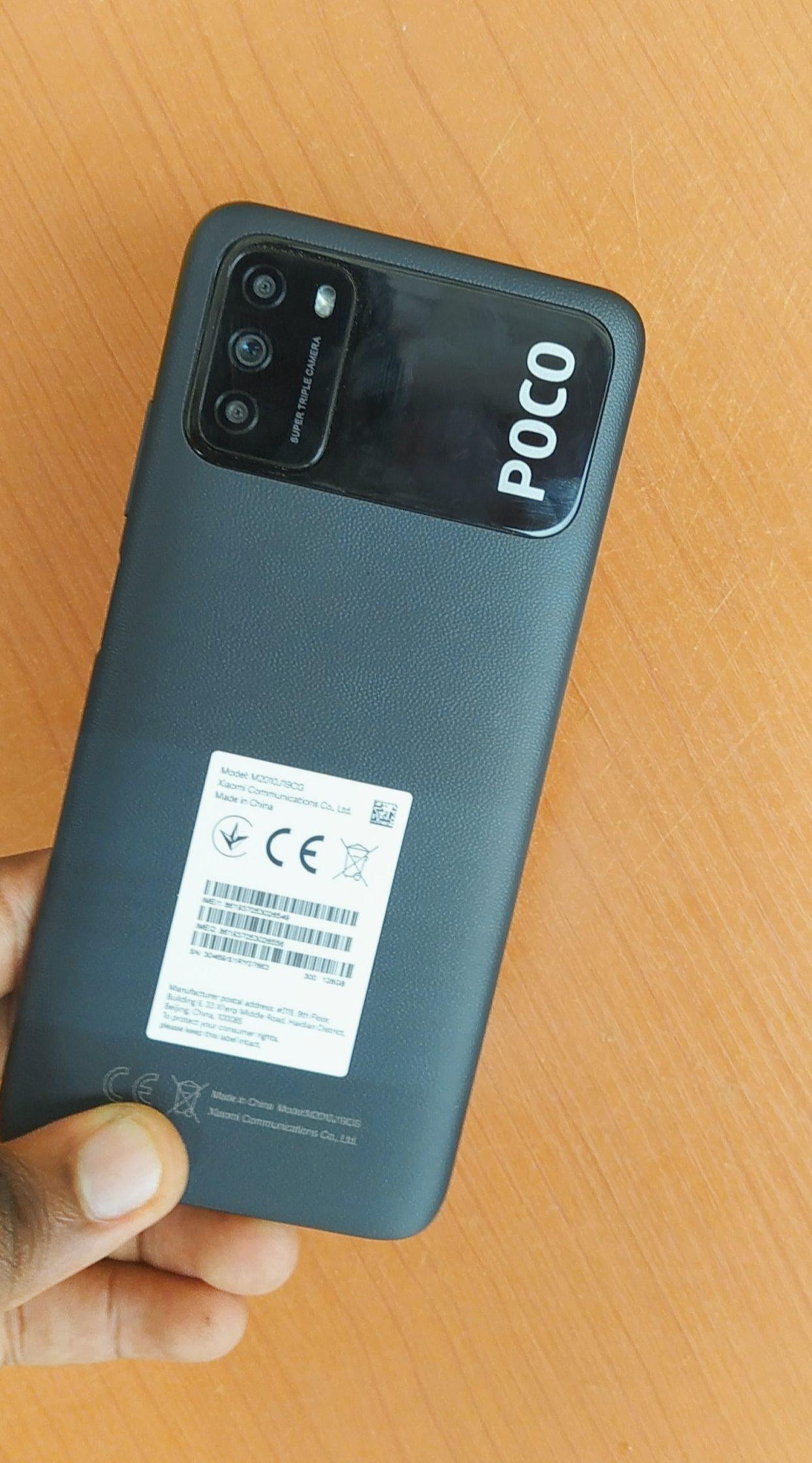 Poco M3 back panel