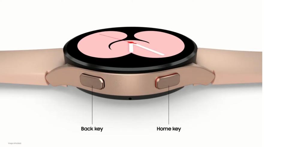 Galaxy Watch 4 Side Control