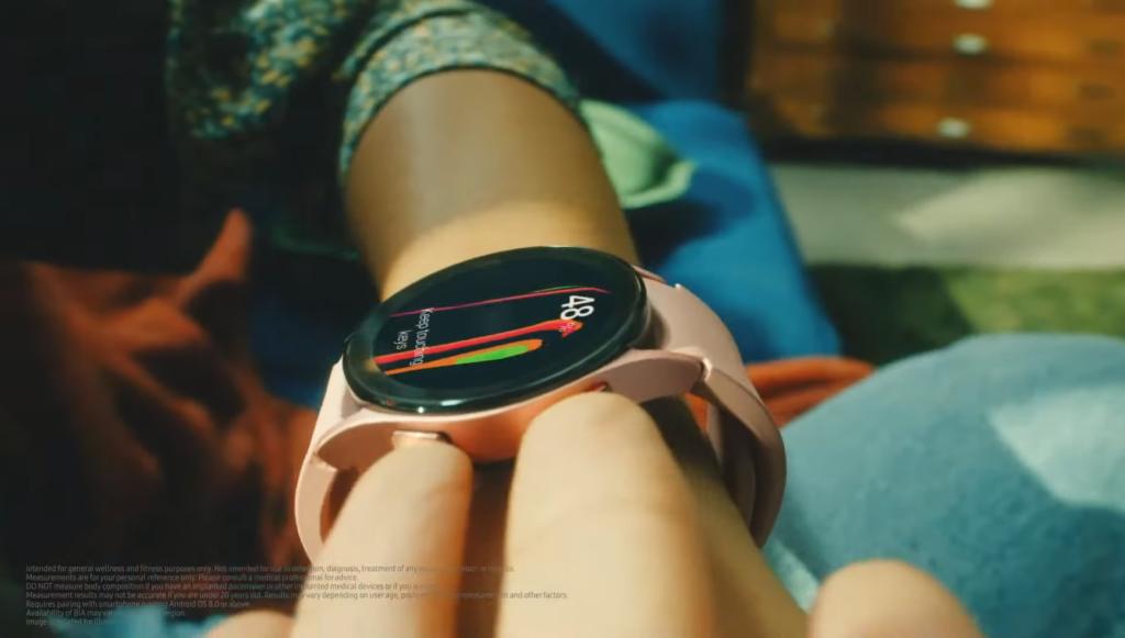 Galaxy Watch 4 Body Composition