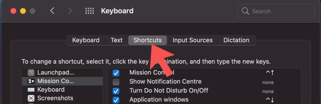 create keyboard shortcuts mac