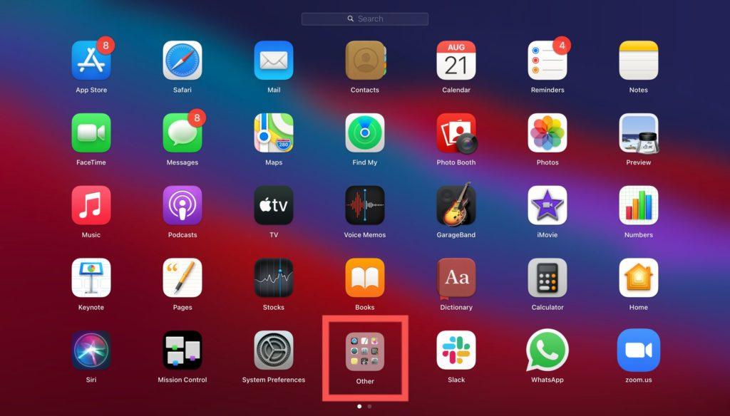 Other folder mac