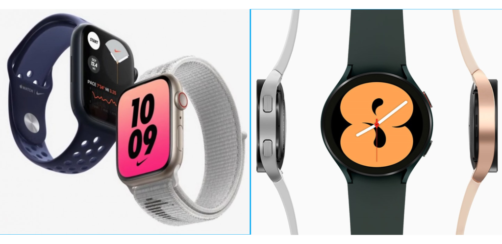 Apple Watch Series vs 7 Samsung Galaxy Watch4