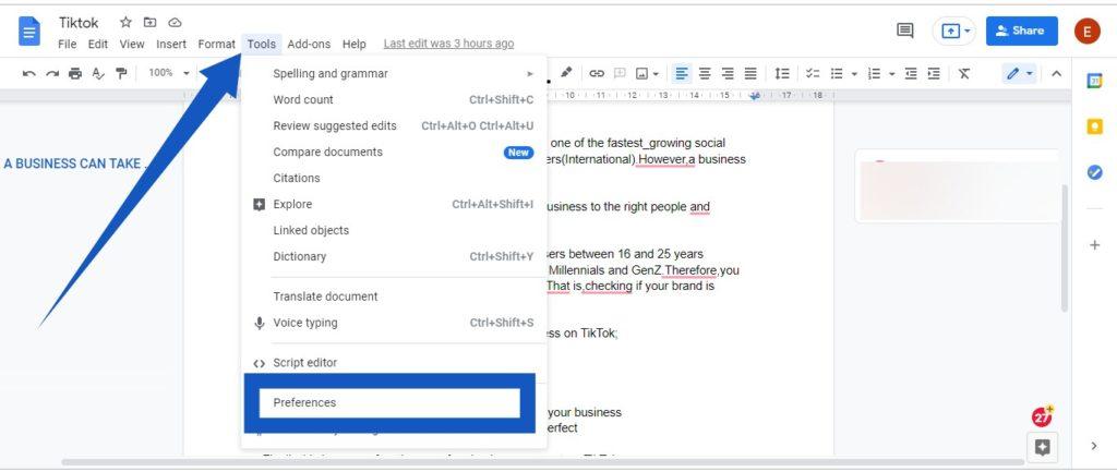 Smart Reply Google Docs