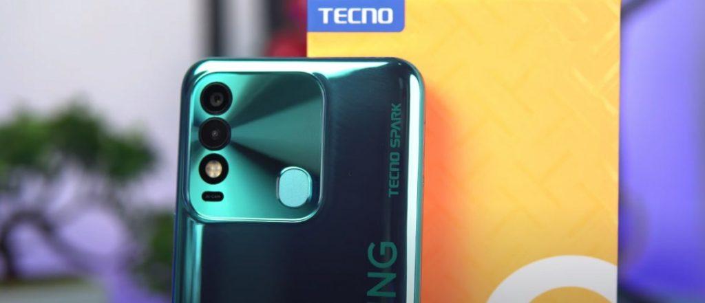 Tecno Spark 8 rear cameras