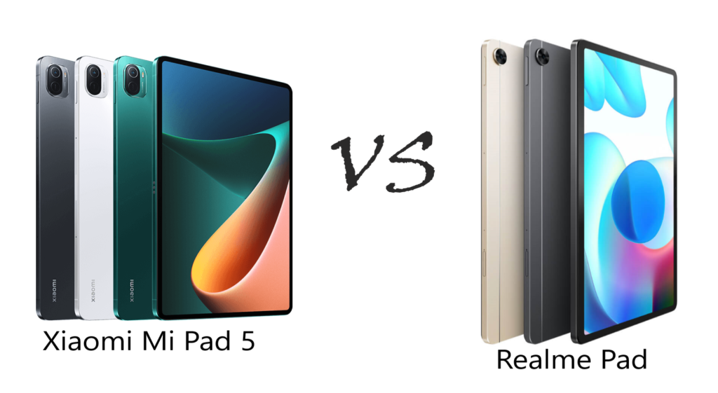The undeniably worthy budget candidates out of the recent Android tablet releases are the Realme Pad and Xiaomi Pad 5