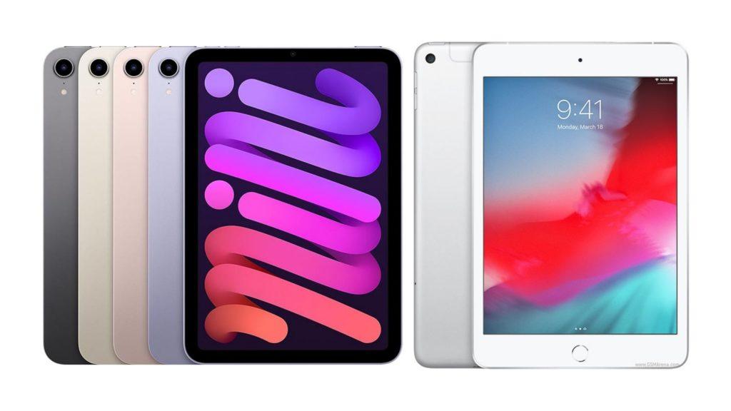 iPad Mini 6 vs 5