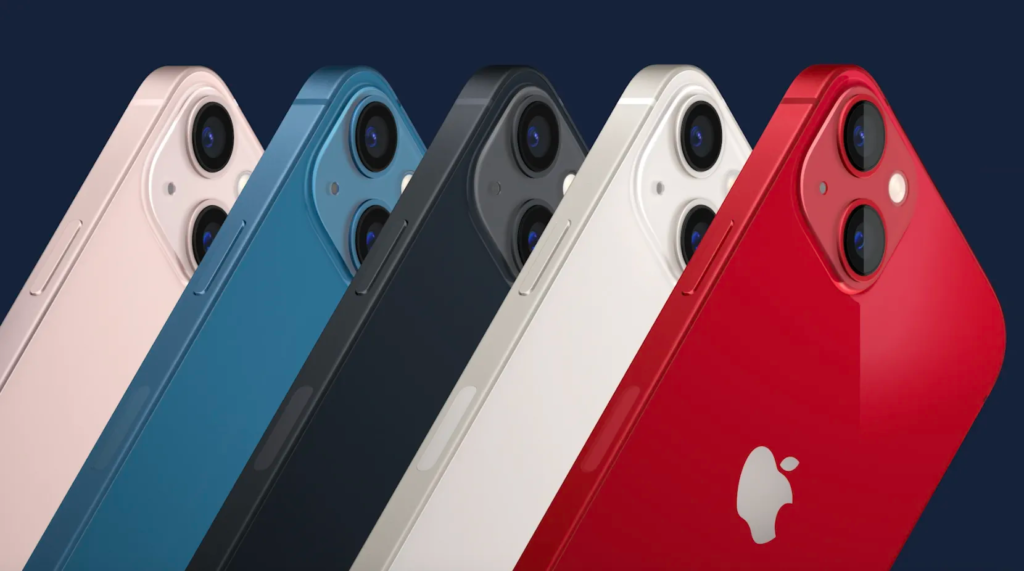 iphone 13 and 13 colors