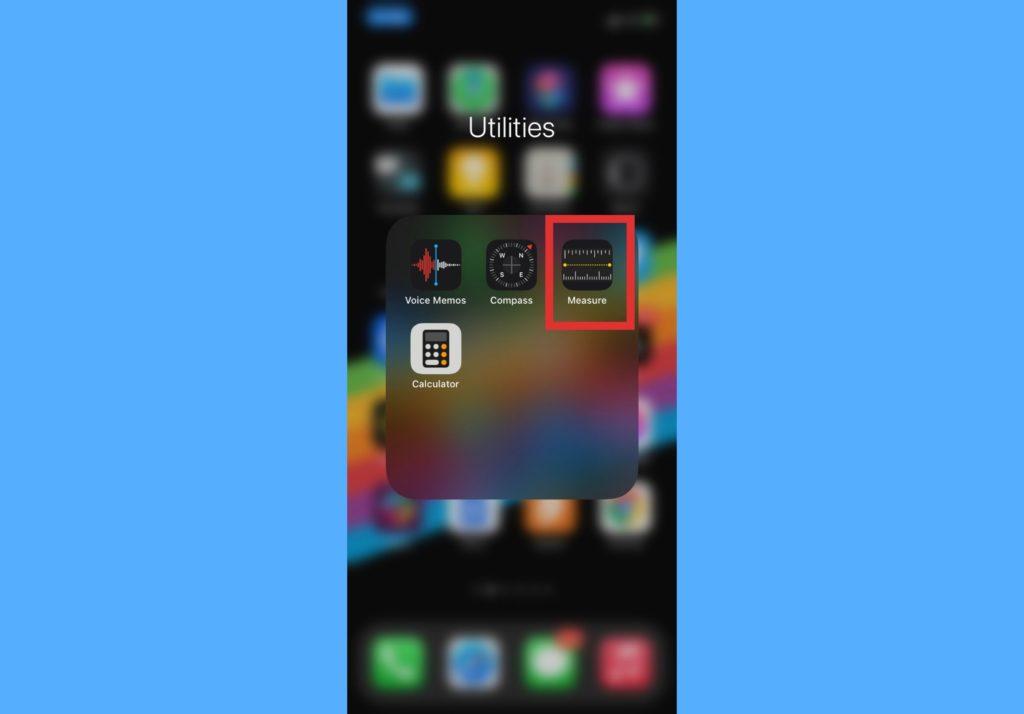 Measure app iOS