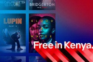 netflix free in kenya