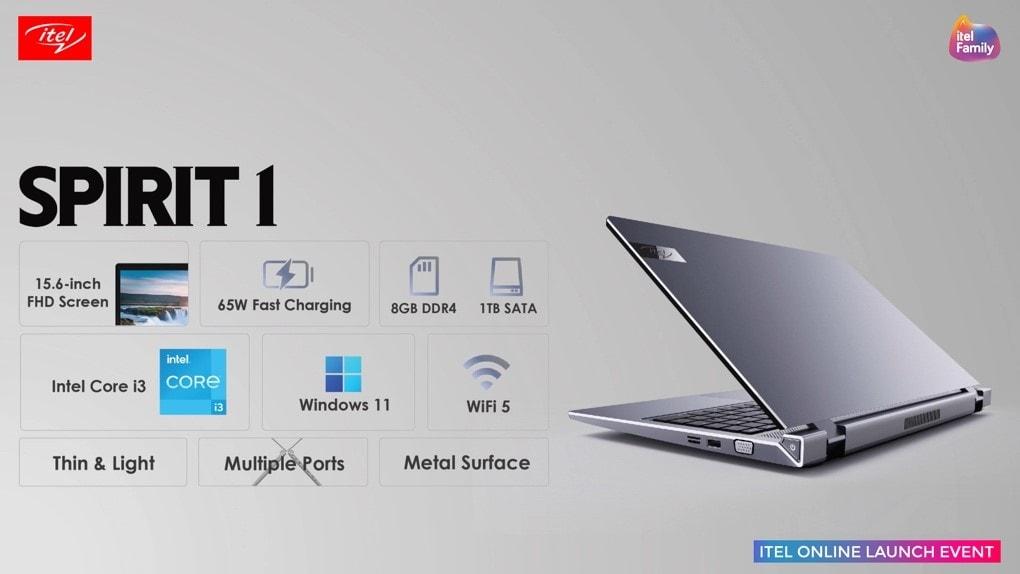 itel Online Launch